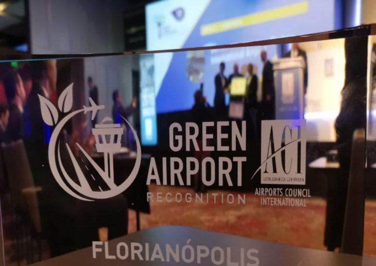 Aeroporto de Florianópolis ganha título de sustentabilidade