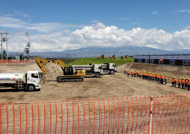 Quiport begins the Quito International Airport expansion