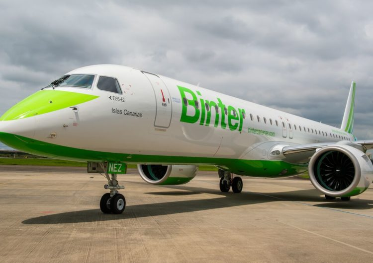 Embraer entrega a la aerolínea española Binter su primer jet, modelo inédito en Europa