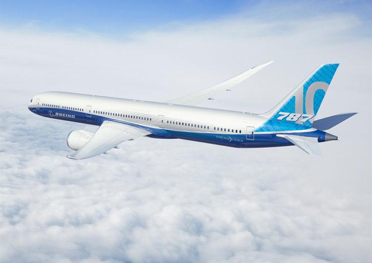 British Airways recibirá su primer 787-10 en enero