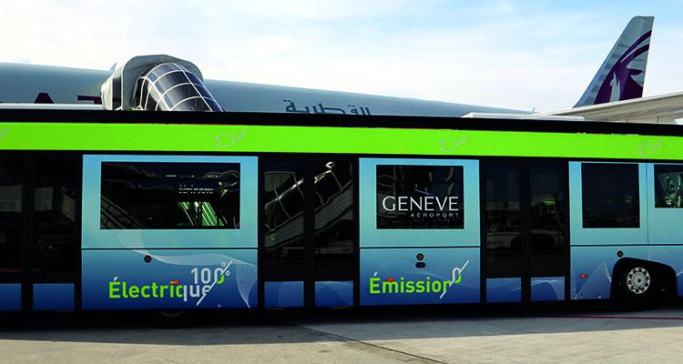 Aeropuerto suizo busca electrificar todos sus vehículos