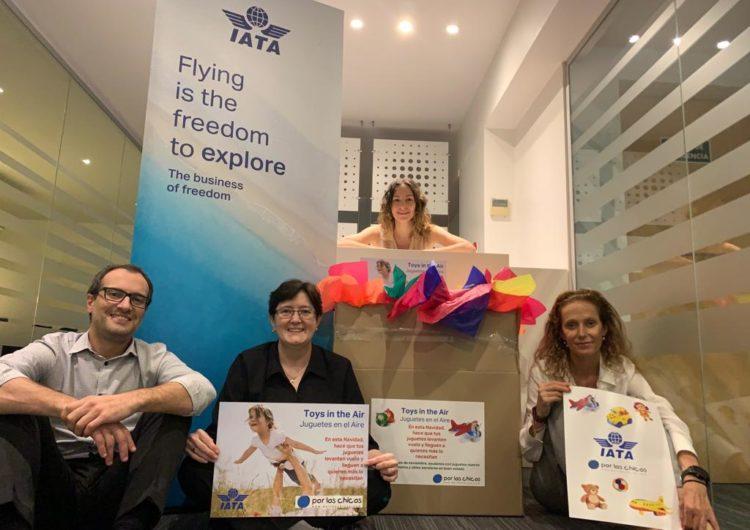 Argentina: IATA junto con las aerolíneas buscan entregar alegría a los niños en Navidad