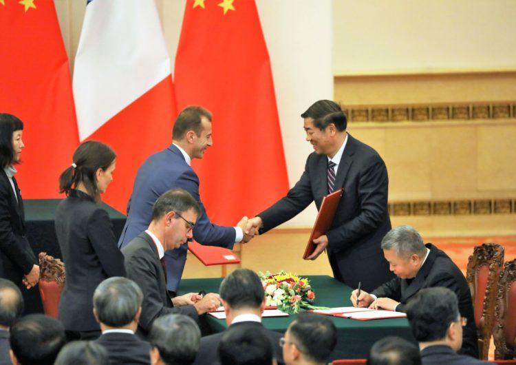 Airbus y China firman MoU para seguir avanzando en materia de cooperación industrial