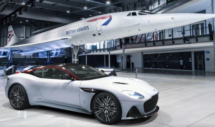 Aston Martin presenta un modelo de edición limitada en homenaje al Concorde