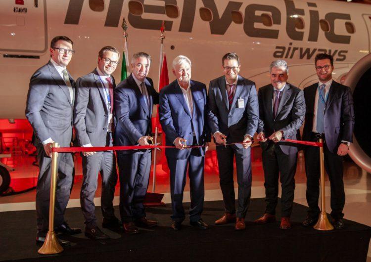 Helvetic Airways recibe su primer Embraer E190-E2