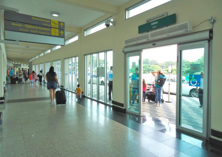 Infraero abre novo acesso de desembarque em Congonhas