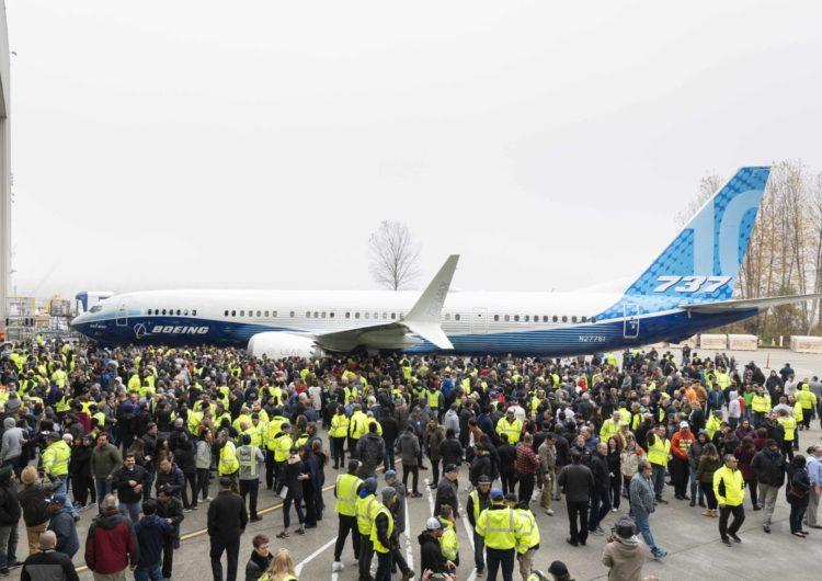 Boeing presentó su nuevo 737 MAX 10