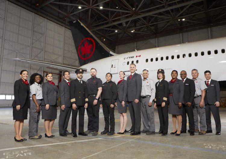 Por séptimo año consecutivo, Air Canada es nombrada una de las mejores empleadoras canadienses