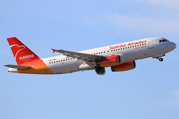 Sunrise Airways espera reanudar el 1 de noviembre los vuelos entre Cuba y Haití