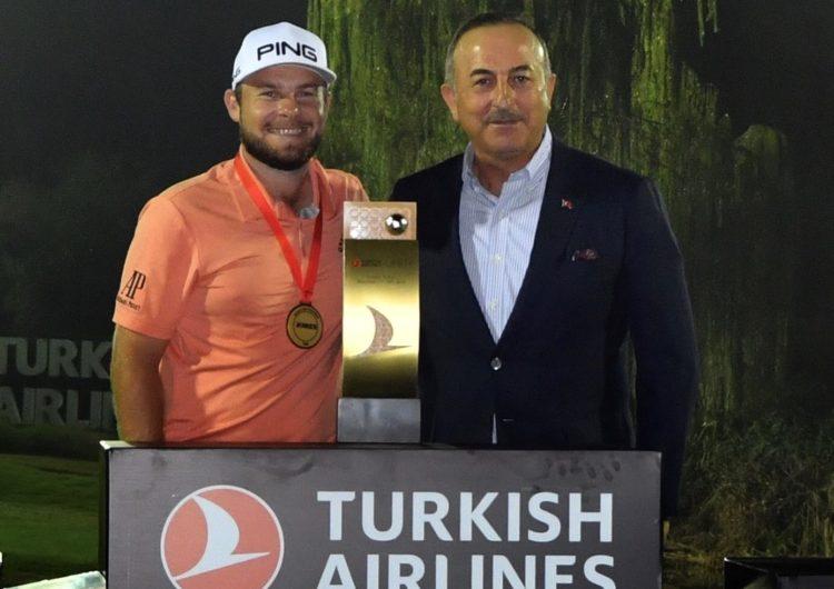 El inglés Tyrrell Hatton es el nuevo campeón del Turkish Airlines Open 2019