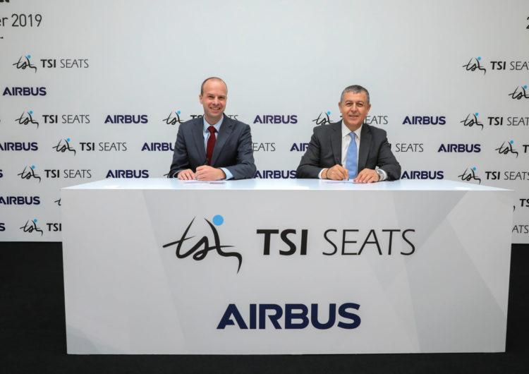 TSI Seats, el primer fabricante turco de asientos de avión, ingresa en el catálogo BFE de Airbus