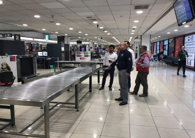 Chile: Fiscalizadores de Aduanas están listos para recibir primer vuelo internacional en Concepción