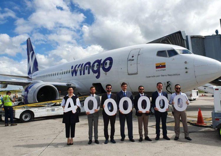 Aerodom celebra llegada del pasajero número 4 millones por el AILA antes de terminar 2019