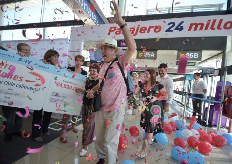 Chile: Transportes celebró récord de 24 millones de pasajeros en el Aeropuerto de Santiago