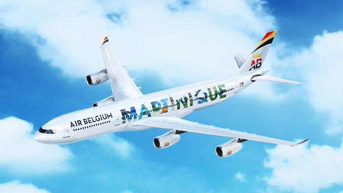 La compañía Air Belgium estrena ruta al Caribe