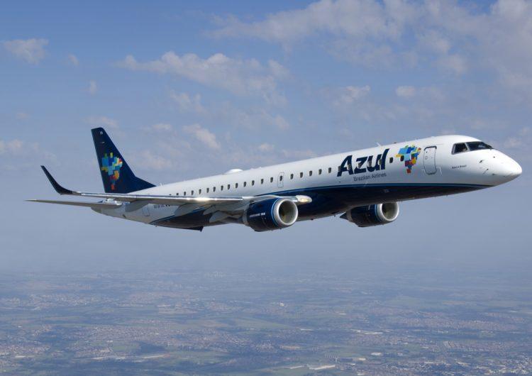 Azul amplia oferta de assentos com novo voo entre Salvador e Aracaju
