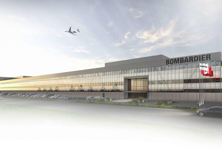 Bombardier construirá su nuevo centro de ensamblaje final de aeronaves en el aeropuerto de Toronto