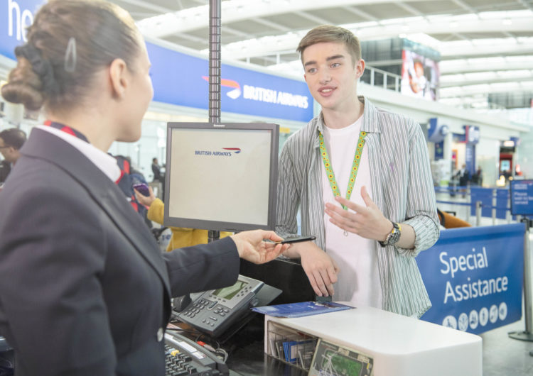 British Airways pledges further commitment to improving accessibility as the carrier aims to become the airline of choice for customers with hidden and visible disabilities