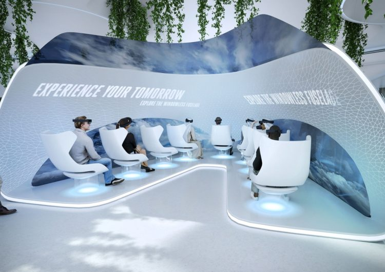 Emirates revelará cómo será el futuro de la aviación en 2071