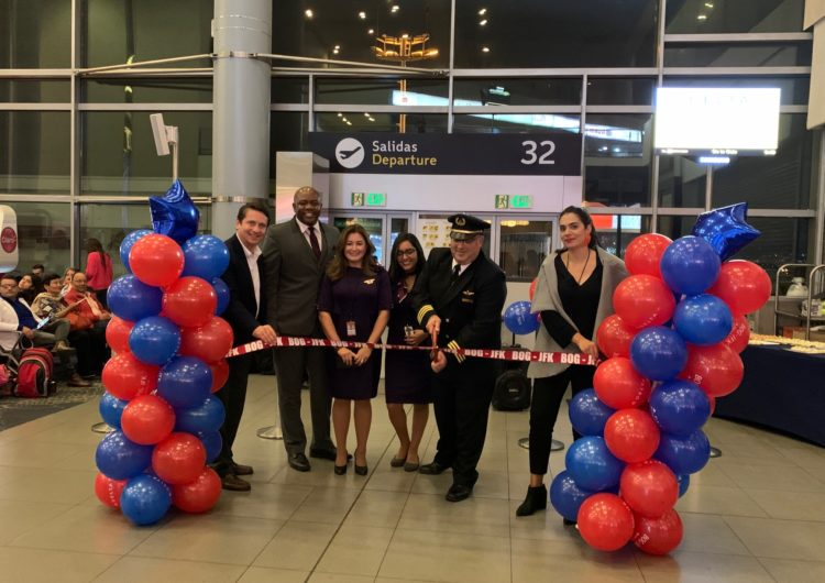 Delta launches new service between Bogotá and Big Apple