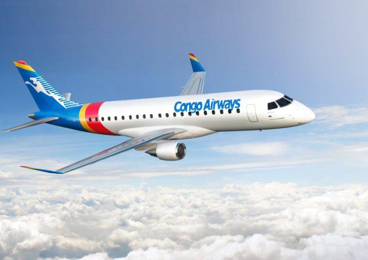 Embraer vuelve a ganar en Africa: Congo Airways elige al E175 y no descarta ir por los E2