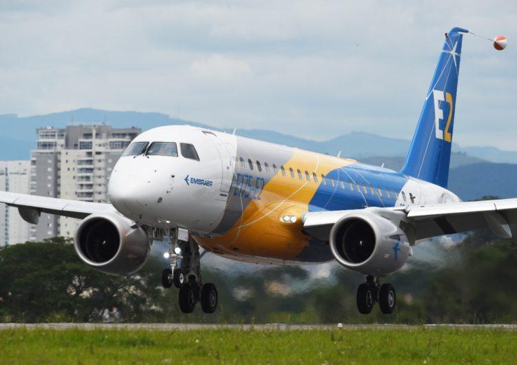 SkyWest encarga a Embraer 20 aviones E175