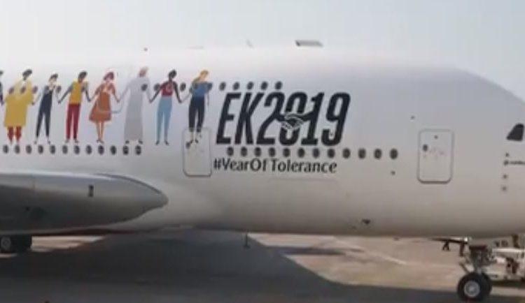 Emirates impone un nuevo Récord Guinness; 145 pasajeros de diferentes nacionalidades a bordo