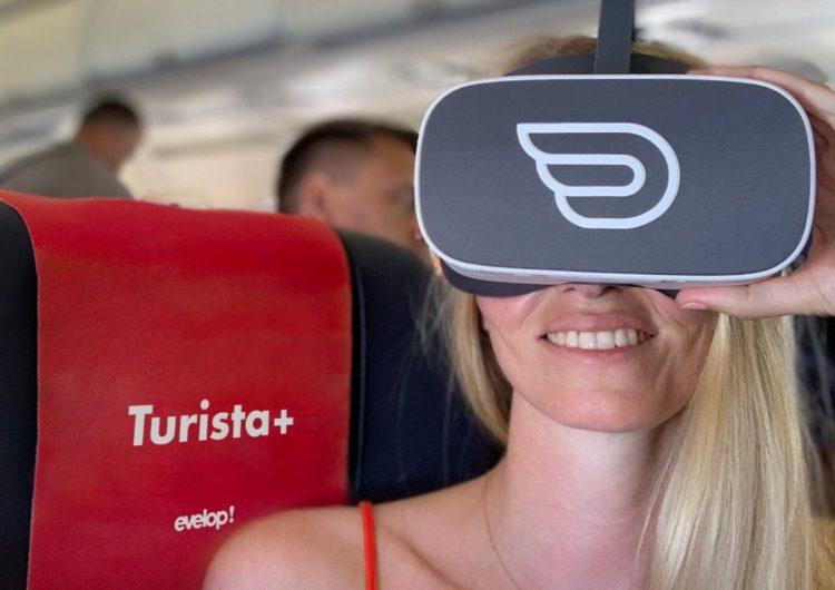 La aerolínea Evelop! introduce la realidad virtual en sus vuelos