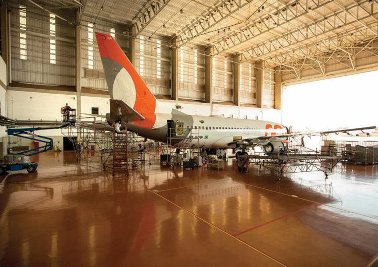 Gol anuncia unidade de negócios para manutenção de aeronaves