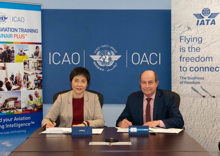 IATA enters Corporate Partnership with ICAO TRAINAIR PLUS Programme
