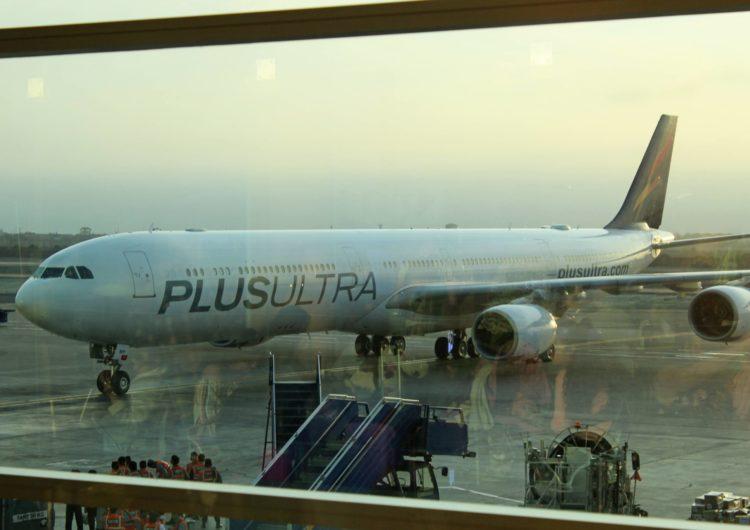 Plus Ultra Líneas Aéreas estrena su A340-600 en un vuelo Madrid-Lima