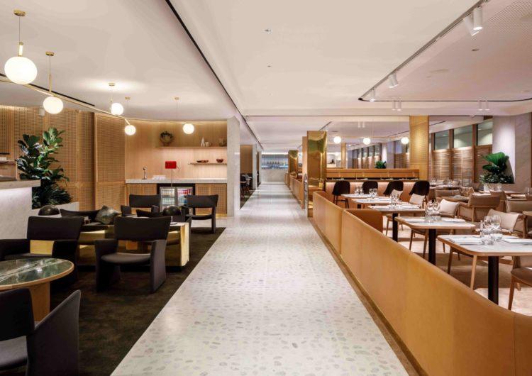 Qantas abre sus puertas para estrenar el nuevo salón de lujo en Singapur