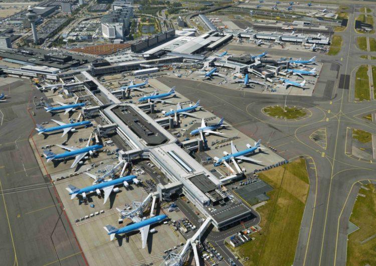 El aeropuerto de Schiphol convertirá su césped en material de construcción