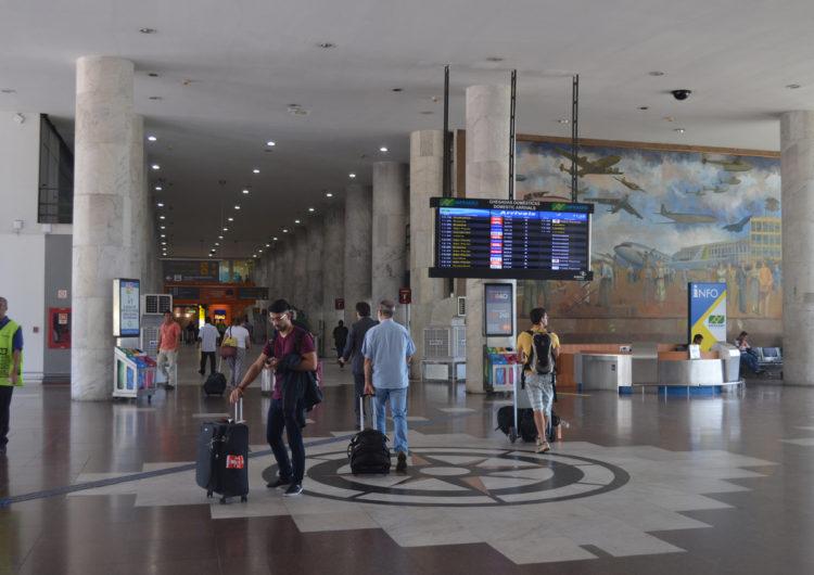Festas de final de ano movimentam quase 30% mais passageiros no Santos Dumont que em 2018