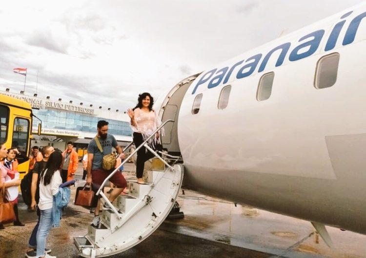 Latam ya vuela entre Brasilia y Asunción, a través de Paranair