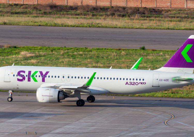 SKY anuncia suspensión temporal de vuelos en Perú durante abril
