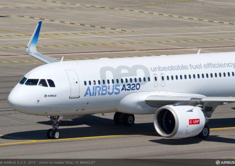 Airbus recibió en enero pedidos netos de 274 aviones y entregó 31 unidades
