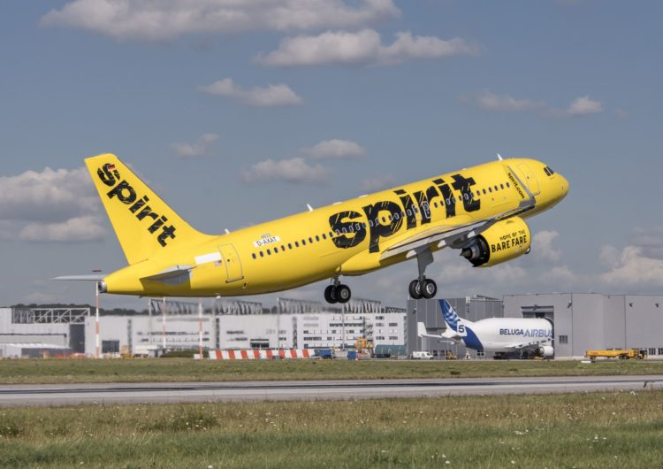 Spirit Suspends Flights to and From Five Airports