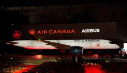Air Canada celebra el arribo de su primer Airbus A220, como parte de su continuo programa de modernización de flota