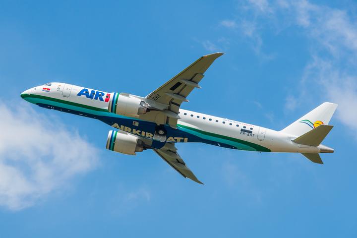 Air Kiribati recibió su primer E190-E2