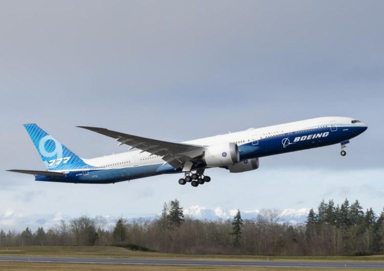 El Boeing 777X completa con éxito su segundo vuelo de prueba