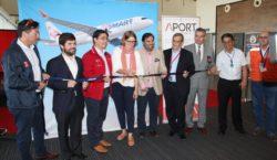 Ministerio de Transportes de Chile inaugura base de operaciones de JetSmart en Antofagasta