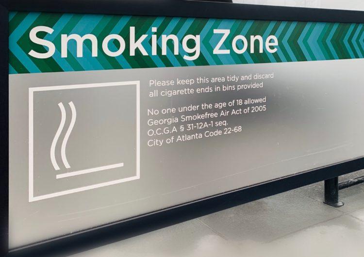 Entra en vigor ley que prohíbe fumar dentro del Aeropuerto de Atlanta