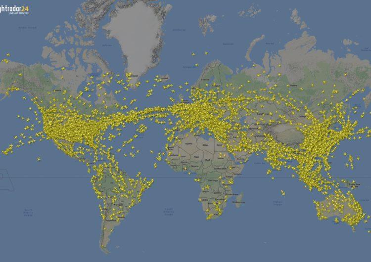 Flightradar24 rastreó más de 68 millones de vuelos en el 2019