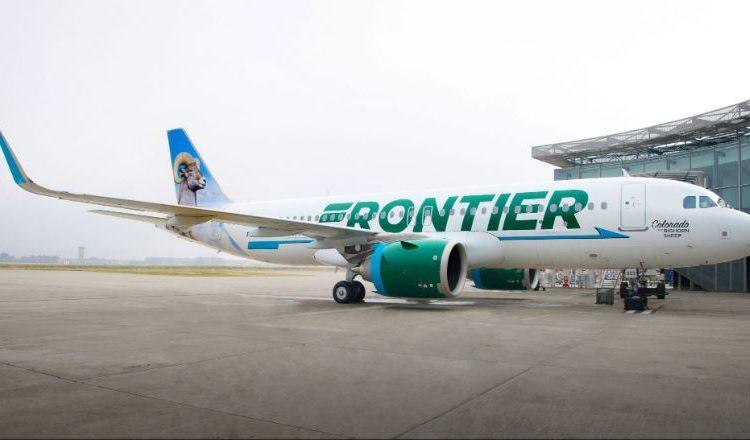 Frontier aplicará control de temperatura a pasajeros desde el 1 de junio