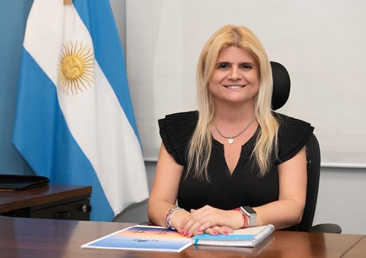 Gabriela logatto fue nombrada presidenta de EANA