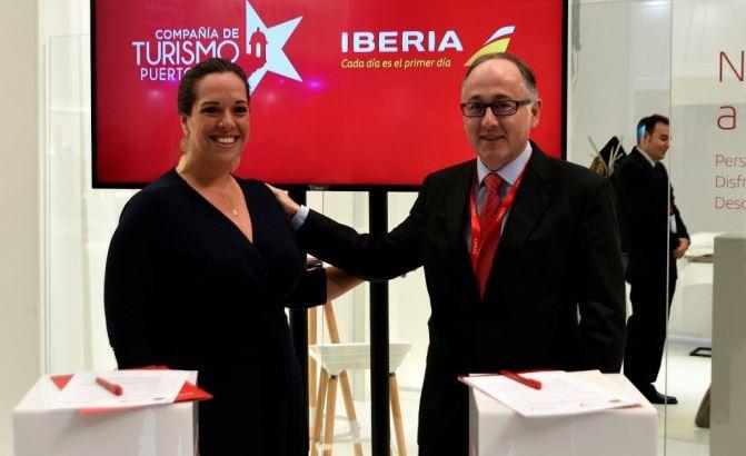 Iberia aumenta su oferta a Puerto Rico en 2020 un 55%