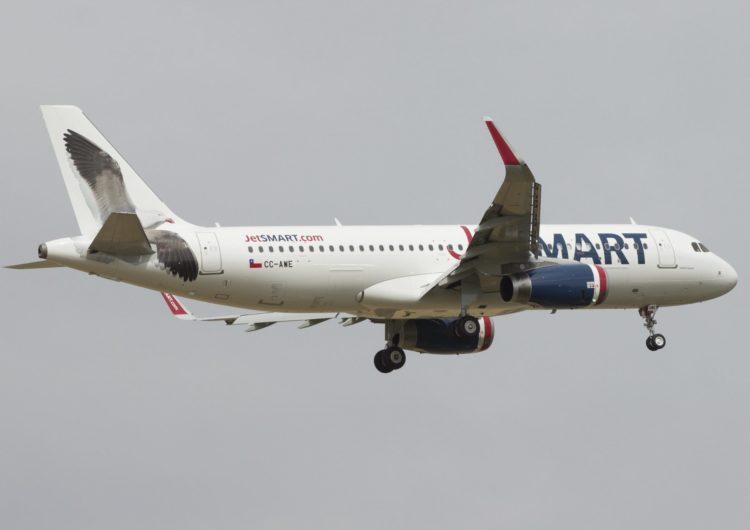 JetSMART inicia operaciones de su ruta directa entre Temuco y Antofagasta
