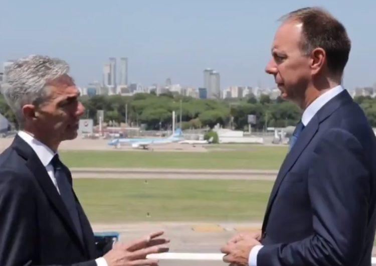 Argentina: Ministro de Transporte sostuvo reunión con IATA