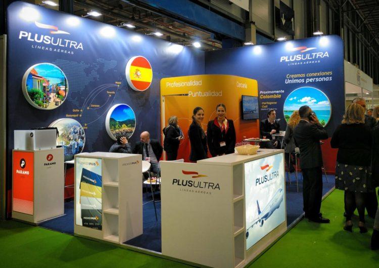 Plus Ultra Líneas Aéreas presenta en FITUR su nueva conexión con Colombia